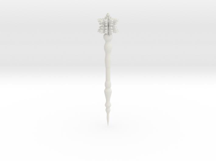 Snowflake wand version 3d printed