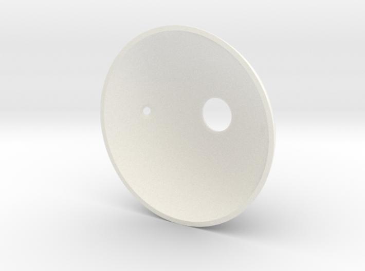 Goldeneye Pinball Satellite Dish - Repro 3d printed