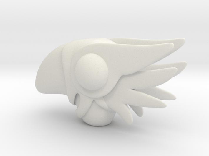 Sakura wand bird top 3d printed