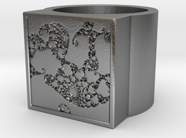 Fractal Ring - Sample5 0 (19mm) 3d printed