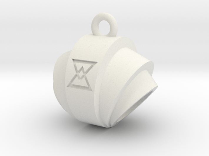 Pendant- Runestone Large- Holder 3d printed