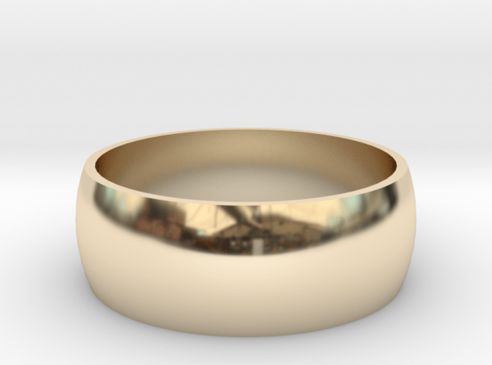223-Designs Bullet Button Ring Size 8 3d printed