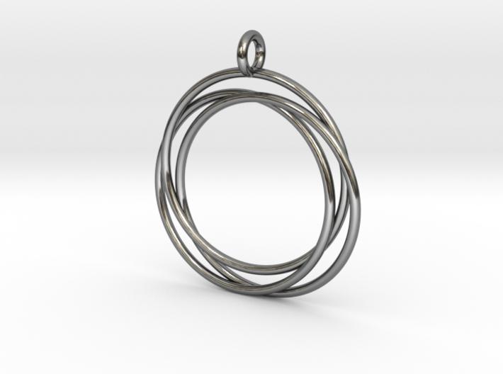 Interlaced Circles 3d printed