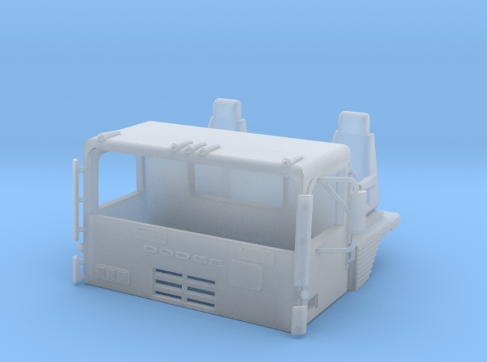 1/64th S Scale Dodge LT 1000 Day Cab CO 3d printed