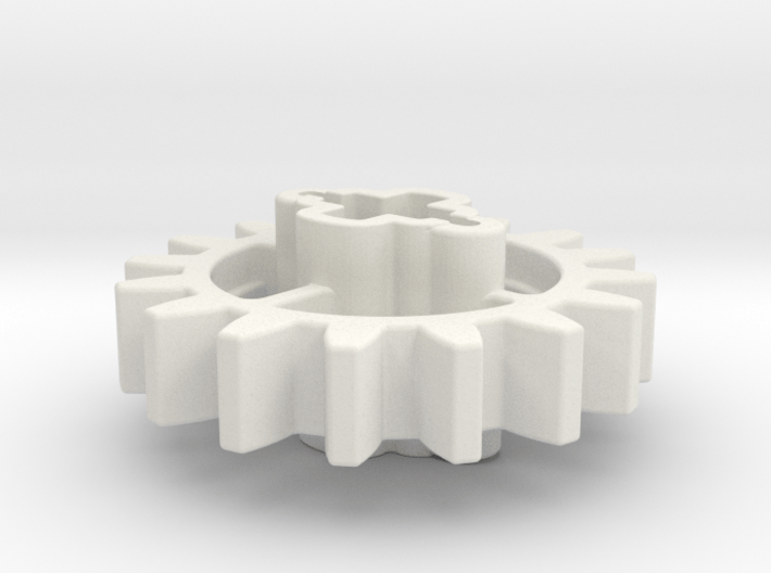 16z Angled Cross 3d printed