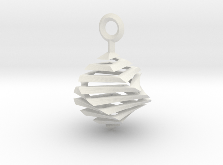 QTS earring small 3d printed