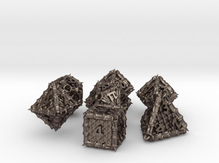 Dragon Dice Set 3d printed