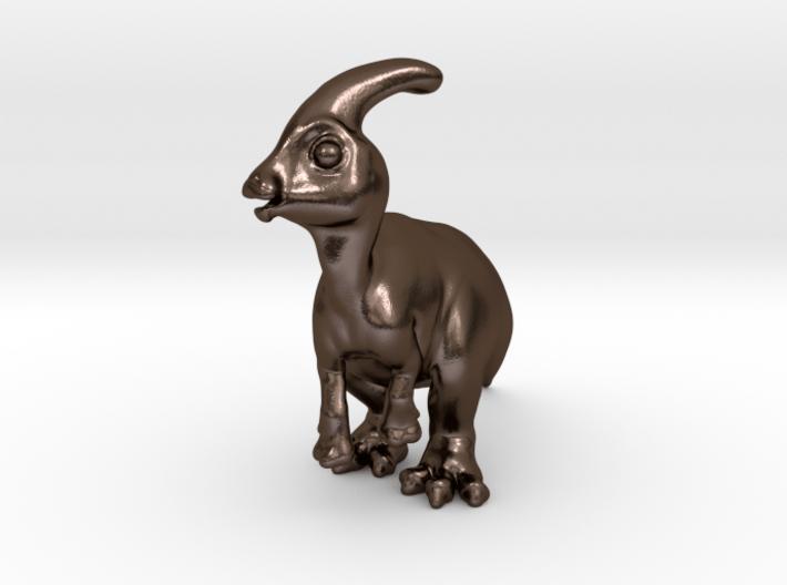 Parasaurolophus Chubbie SolidBIG 1 3d printed