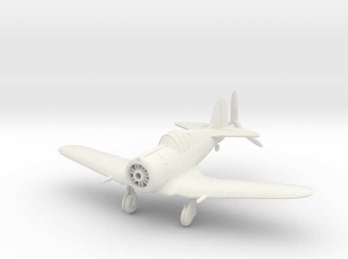 1/144 CAC Boomerang, Wheels down 3d printed