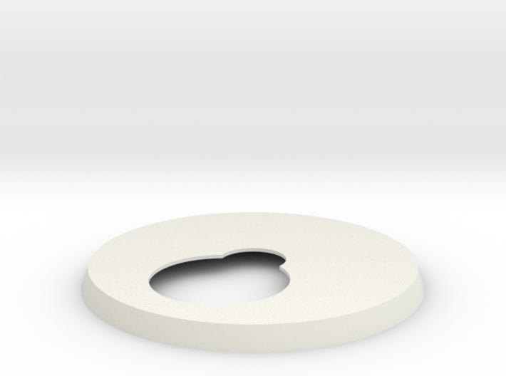 1/18 Five-Foot MF Top & Bottom Turret platform 3d printed