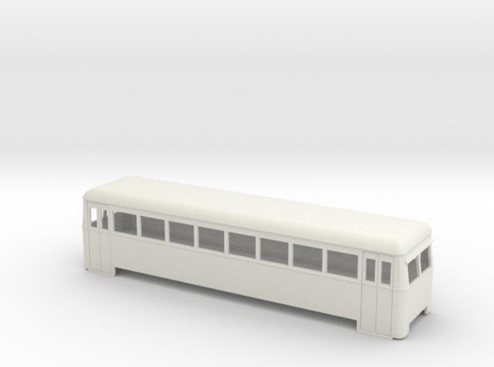 009 cheap and easy long bogie railbus 3d printed