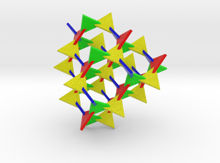 Bamboozle (30 mm triangles) 3d printed