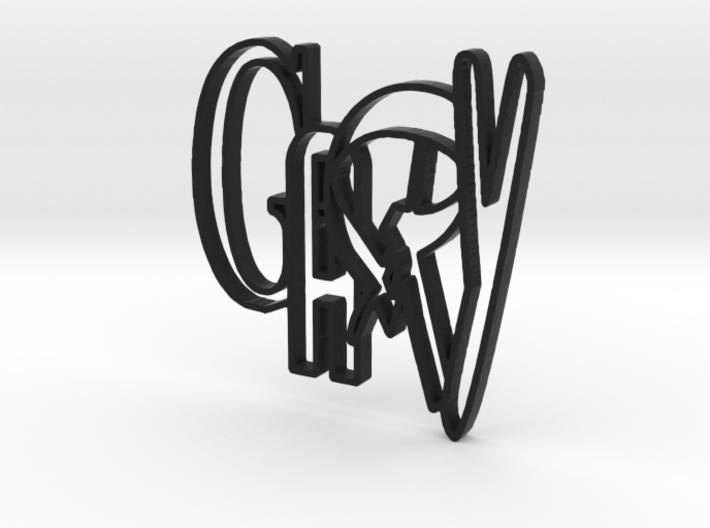 GARY (4cm) 3d printed