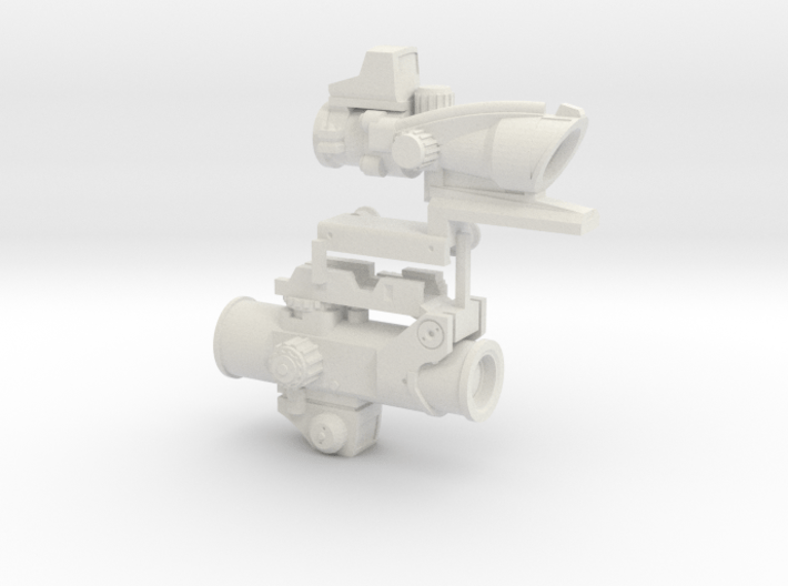 1:6 SCALE OPTICS PACKAGE  3d printed