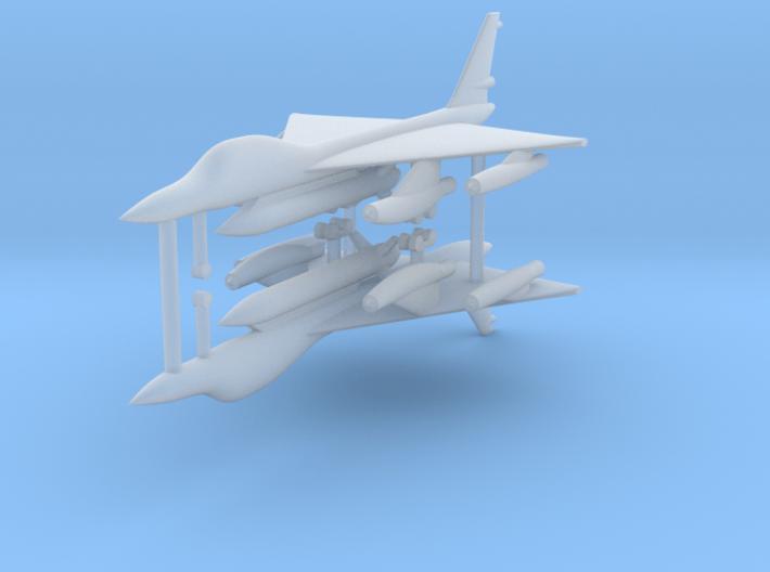 1/600 B-58 Hustler (x2) 3d printed