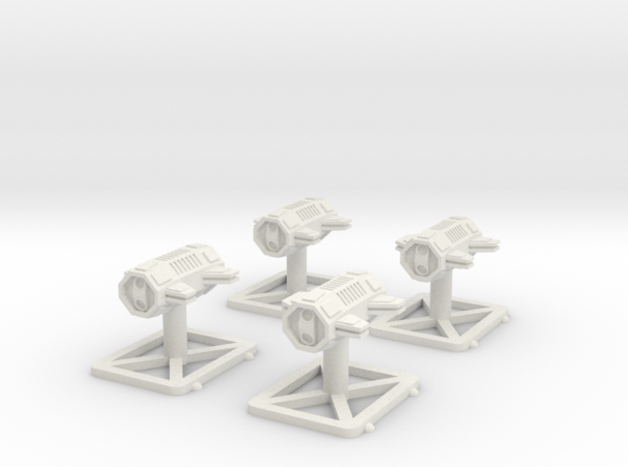 4x Cargo Container Class-B 3d printed