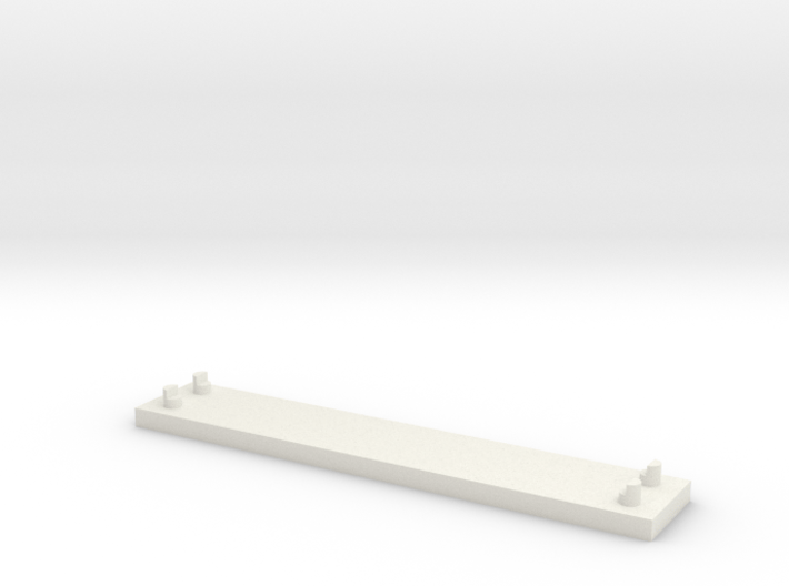 JOINER, DOUBLE TRACK 3d printed