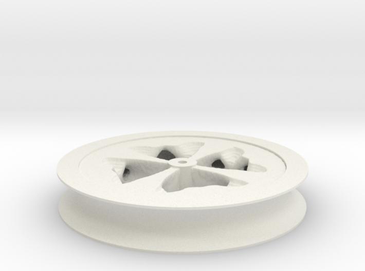 Fat Wheel 3d printed