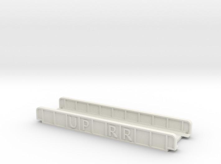 UP RR 110mm SINGLE TRACK VIADUCT 3d printed