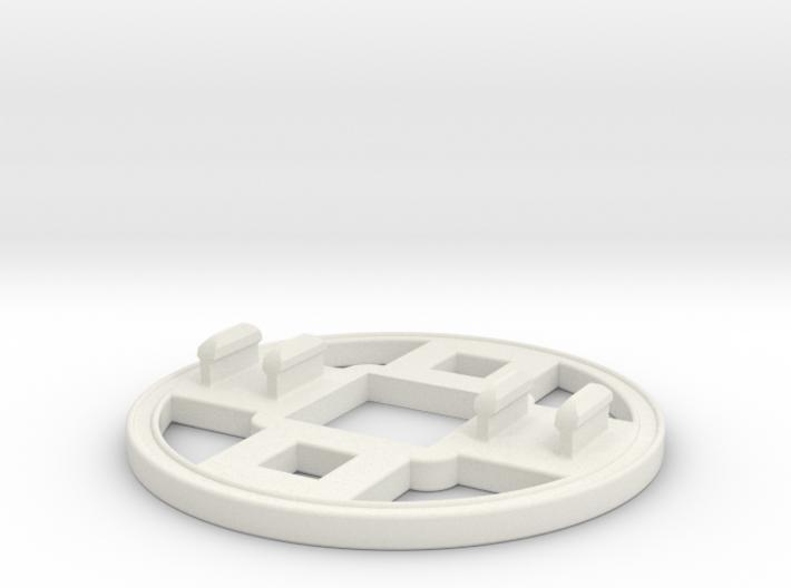 Rokenbok Bearing Flange 3d printed