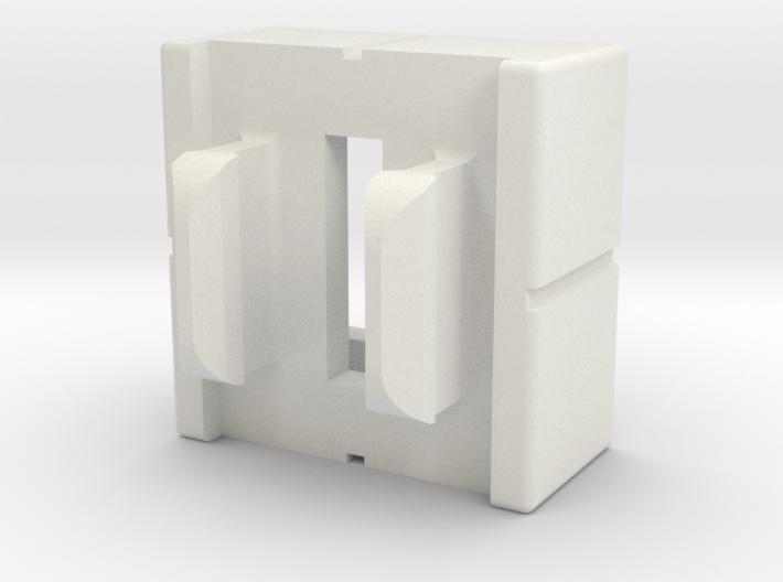 Rokenbok Half Block With Snap 3d printed