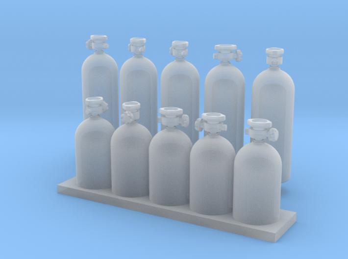 Flessenrek 3d printed