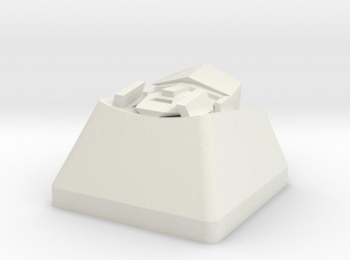 Pinder megatron cap | CHERRY MX 3d printed