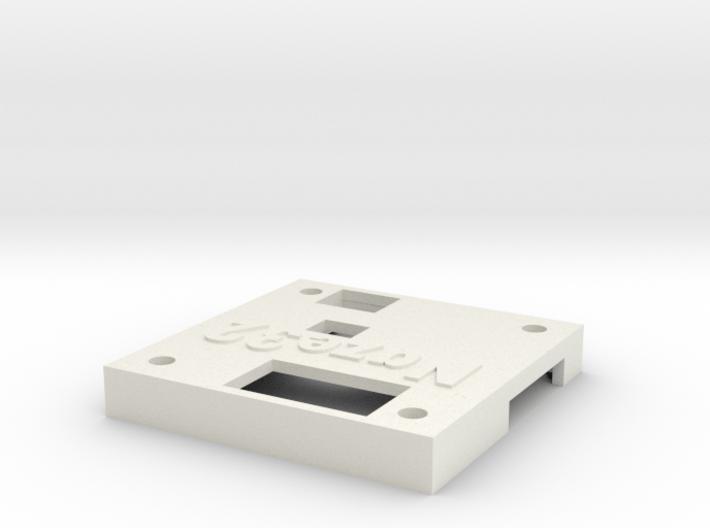 Naze32 rev5 case - top half, straight pins 3d printed