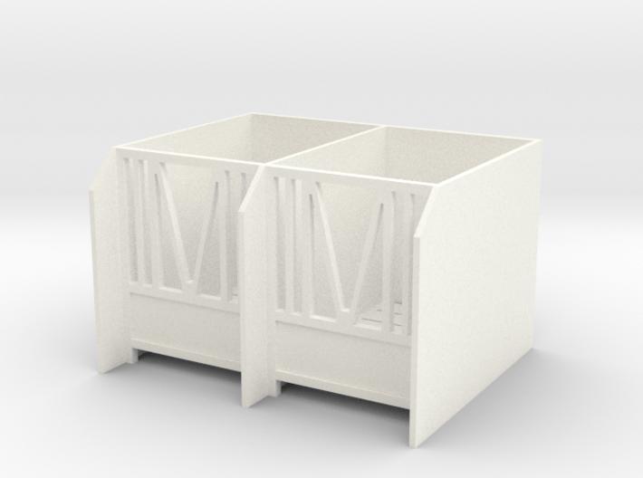 Calves Housing 1/32 Model 3d printed