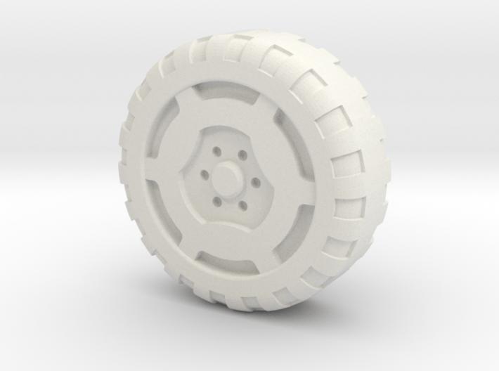 Rokenbok Snap-on Wheel 3d printed