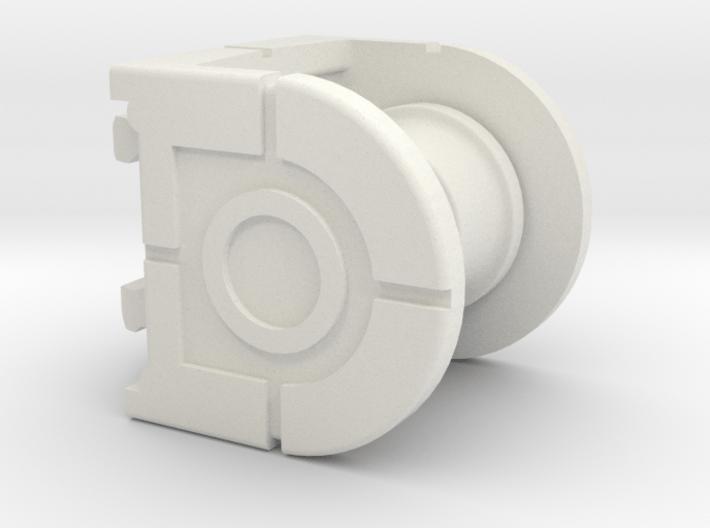 Rokenbok Pulley 3d printed