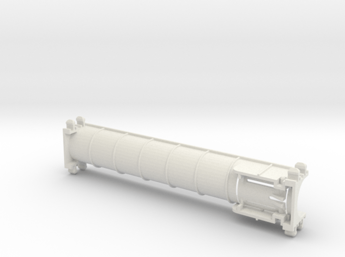 Rokenbok Straight Chute 3d printed