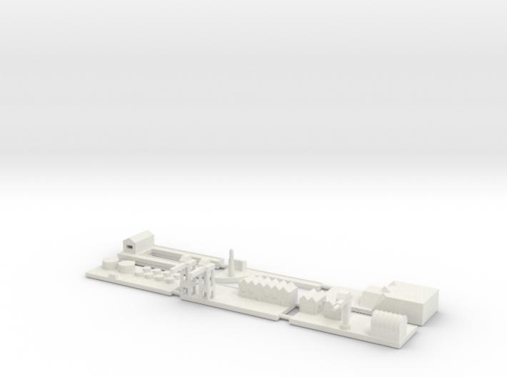 """1"""" Building Set 4 - Harbour 3d printed"""