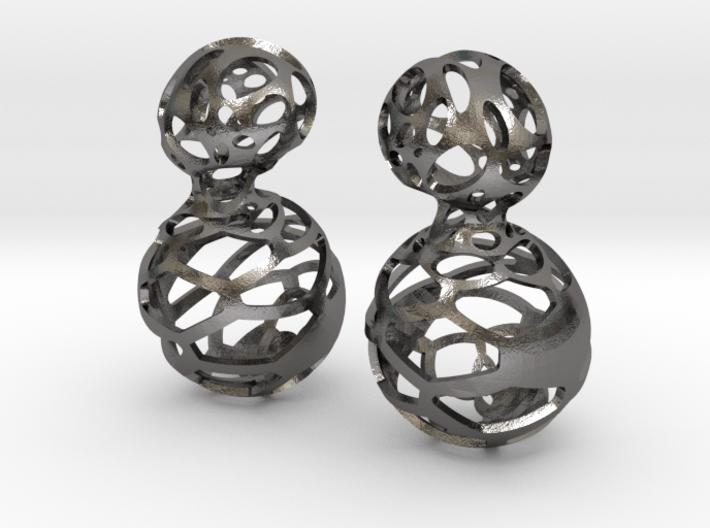 Earring_Poko_Poko 3d printed
