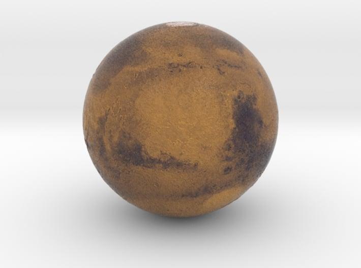 "1"" Mars Globe 3d printed"