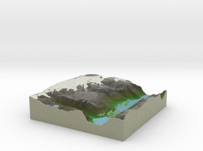 Terrafab generated model Thu May 15 2014 22:27:44 3d printed