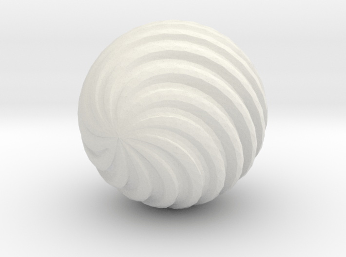 Wave Ball 3d printed