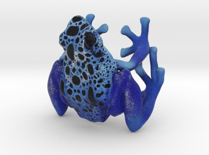 Dendrobates tinctorius azureus 3d printed