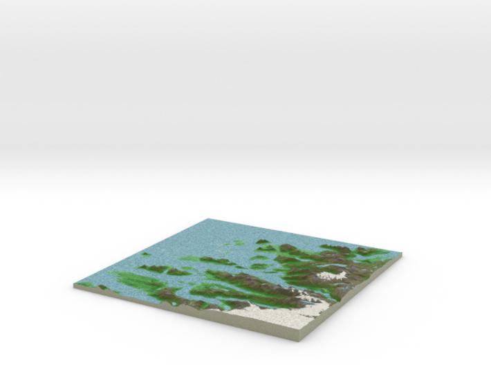 Terrafab generated model Mon May 19 2014 01:01:02 3d printed