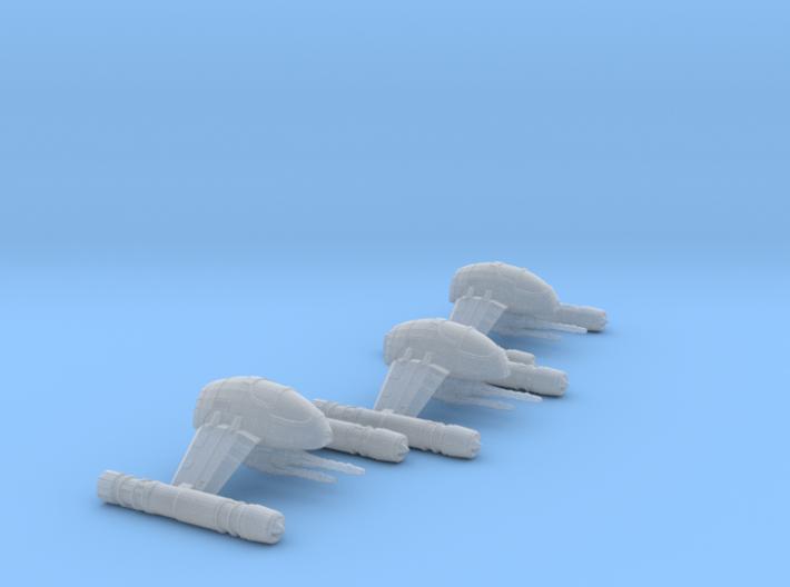 A-9 Interceptor Mk2 1-270 Wing 3d printed