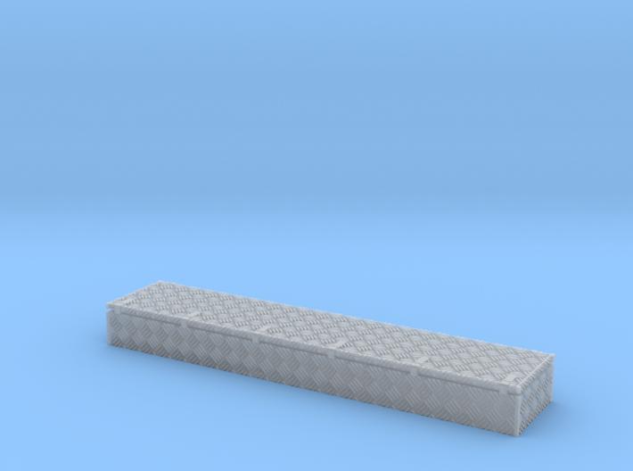 Dachkasten 39,5x8x4mm Krähenfussblech-Schaniere 3d printed