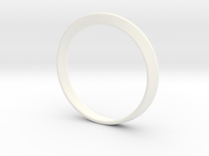 Mobius Strip Bracelet (48mm Inner Diameter) 3d printed