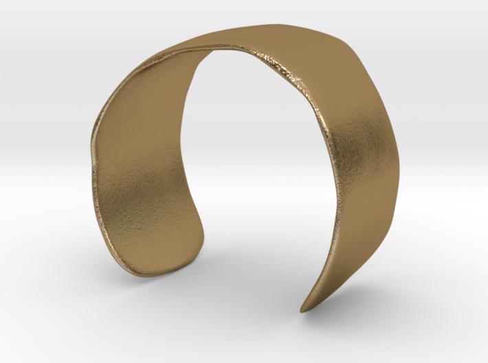 Molded Cuff (48mm Inner Radius) 3d printed