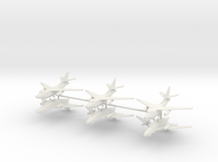 1/400 EA-3B Skywarrior (x6) 3d printed