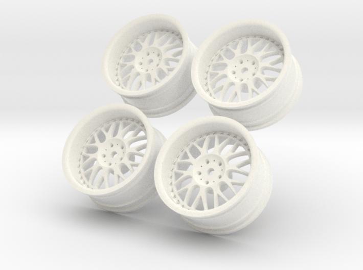 1/10 Touring Car Work Wheels VSXX VS-XX 3d printed