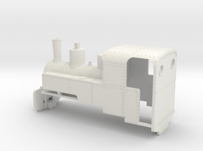B-1-76-decauville-8ton-060-closed-roco-2b - OO9 3d printed