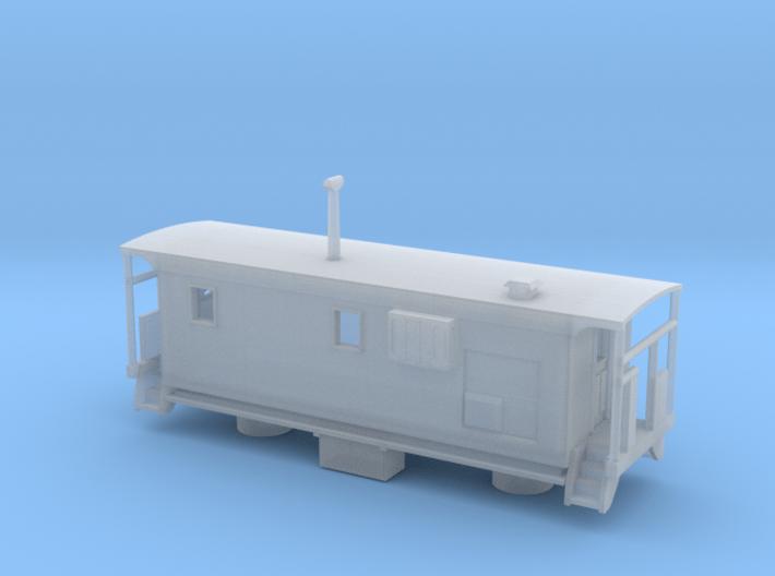 DMIR K1 Tbird Caboose - Zscale 3d printed
