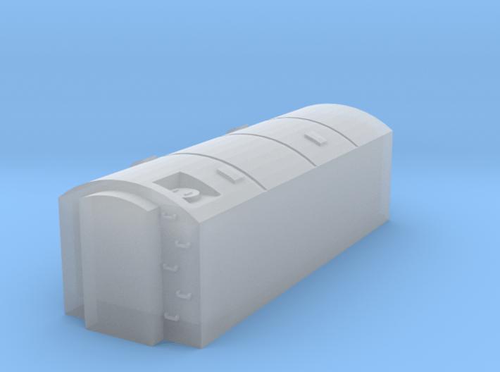 LNER Water Tender and Couplings 3d printed