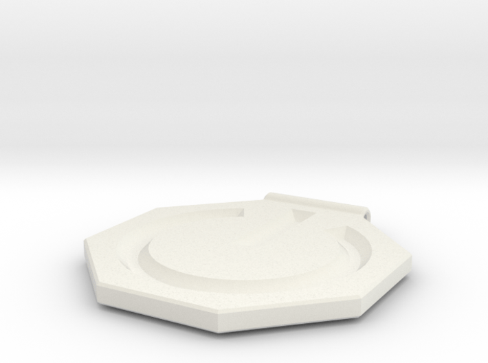 Power Symbol Pendant 3d printed