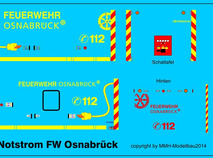 AB-Notstrom Osnabrück  3d printed